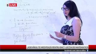 BACALAUREAT 2017 Proba la Matematică