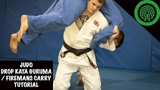 Judo Drop Kata Guruma/Fireman's Carry Throw Tutorial
