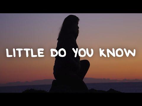 Alex & Sierra - Little Do You Know (Lyrics)