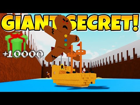 I BROUGHT A GIANT TO THE END! *And this happend...* Build a Boat