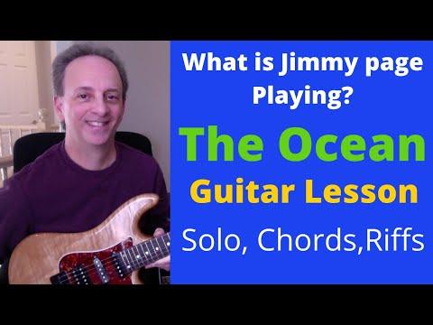 The Ocean - Led Zeppelin - Guitar Solo Lesson