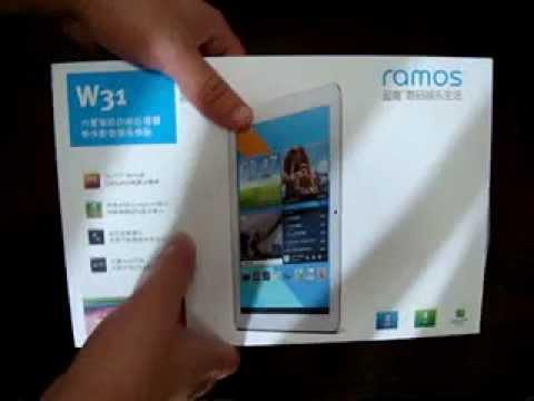 Ramos W31 Quad Core 10.1