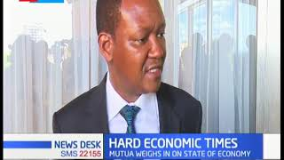 Dr. Alfred Mutua blames hard economic times on wrong strategies