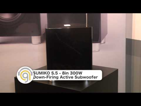 Sumiko Subwoofers at CEDIA 2014 - Audiogurus