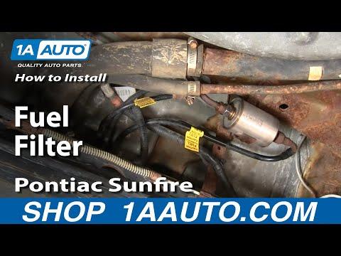 mazda b3000 fuel filter removal cavalier fuel filter removal how to install replace fuel filter cavalier sunfire 95-05 ...