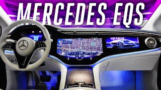 2022 Mercedes-Benz EQS: an electric S-Class with over 400 miles of range thumbnail