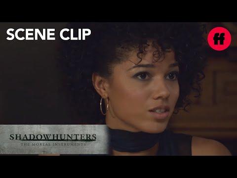 Shadowhunters | Season 2, Episode 16: Maia Opens Up To Simon's Family | Freeform