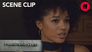 Shadowhunters | Season 2, Episode 16: Maia Opens Up To Simon's Family | Freeform