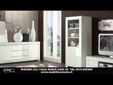 Soggiorni moderni, sale da pranzo moderne,porta tv,vetrine-Niscemi