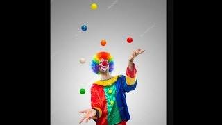 Жонглирование 3 шарами   мои базовые трюки   жонглирование