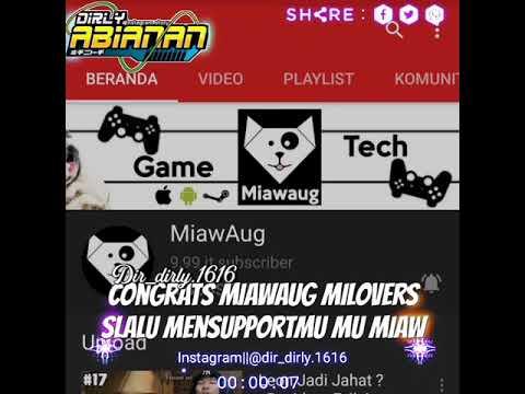 Mana suaranya MILovers ID ini special buat Miawaug dan MILovers