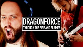 DRAGONFORCE - Through the Fire and Flames (Cover by Jonathan Young & RichaadEB)