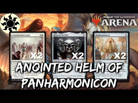 Anointed Helm of Panharmonicon [MTG Arena] | Mono-White