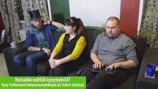 Perustulostriimi: Vieraana Tuula Närvä ja Juha Järvinen, osa 2
