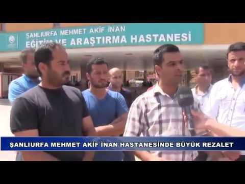 Şanlıurfa Mehmet Akif İnan Hastanesinde Büyük Rezalet