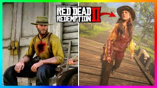 What Happens If Arthur Morgan Returns To The Gang Camp Covered In Blood In Red Dead Redemption 2?