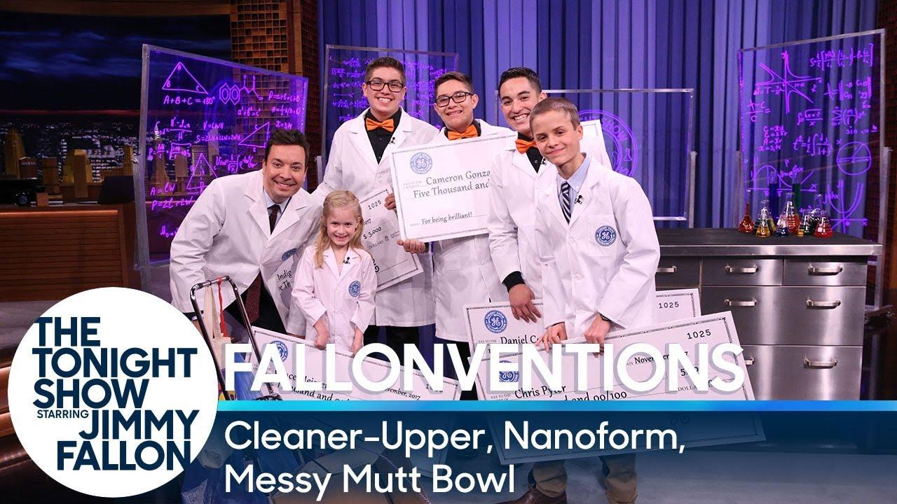 GE Fallonventions: Cleaner-Upper, Nanoform, Messy Mutt Bowl thumbnail