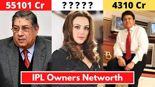 IPL Owners Name and Their Net Worth - IPL 2020