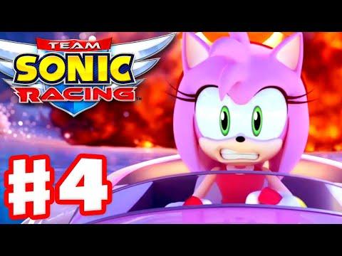 Team Sonic Racing - Gameplay Walkthrough Part 4 - Chapter 4: Cheats Never Prosper!