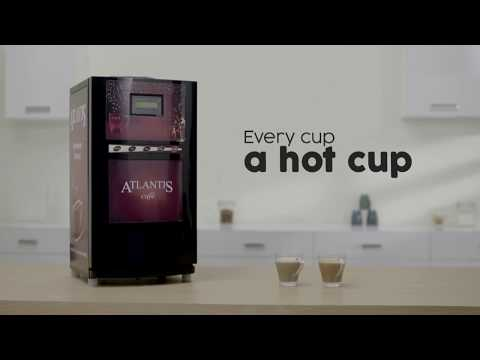 Atlantis Cafe Mini 2 Lane Tea and Coffee Vending Machine