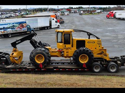, title : 'Moving a 50,000 LB Skidder from St-Lambert-de-Lauzon, QC to Bangor, ME, USA