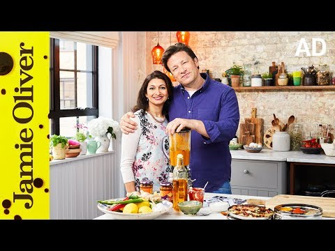 How to Make Curry Paste | Jamie Oliver & Anjali Pathak | AD