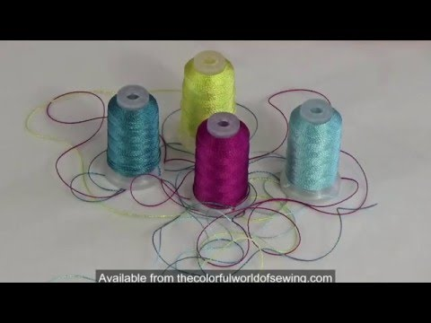 Sewing With YLI Pearl Crown Rayon Thread