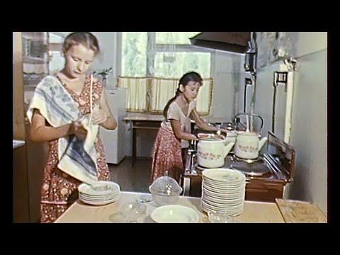 Киргизия. Фрунзе. Построена новая, двуязычная школа 24.08.1987