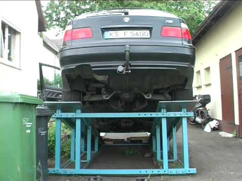 BMW E39 540i V8 Zündung ohne Auspuffanlage.mpg