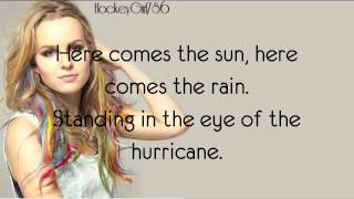 Hurricane- Bridgit Mendler (Official Lyrics)