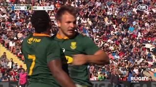 The Rugby Championship Round Two: Argentina vs South Africa