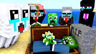 Monster School : RIP Zombie- Minecraft Animation