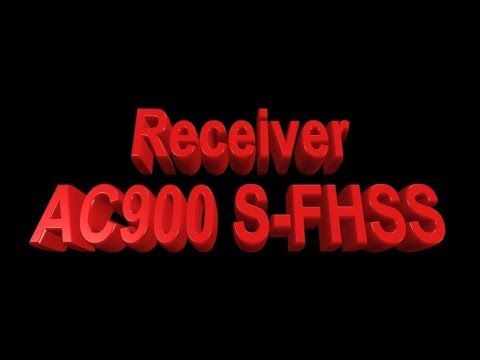 AC900 S-FHSS - How To Link Receiver With FUTABA Transmeter ( French )