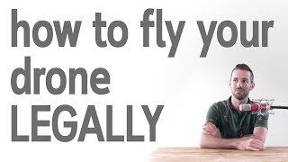 Flying a drone legally is up to you