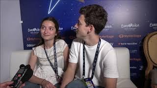 2019 Eurovision Song Contest - Interview With Zala Kralj And Gašper Šanti (Slovenia)