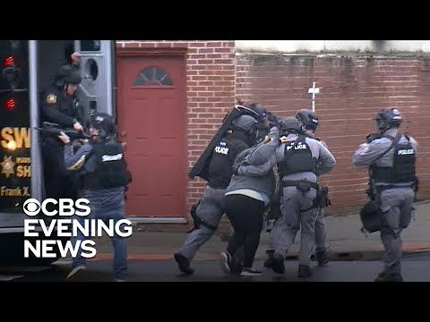 Officer among those killed in New Jersey shootout