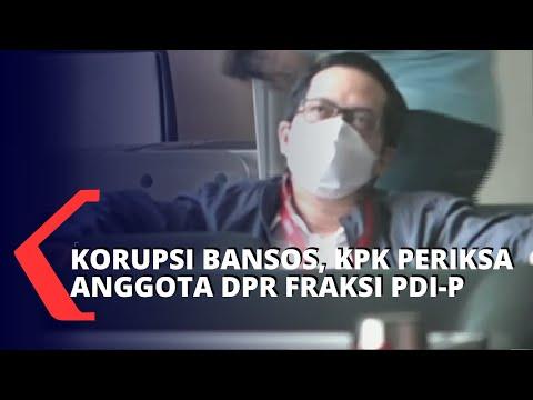 KPK Periksa Anggota DPR Fraksi PDI-P di Kasus Korupsi Bansos