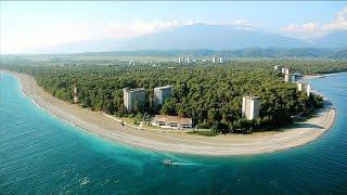 Отдых в Пицунде Абхазия поездка на море 2014