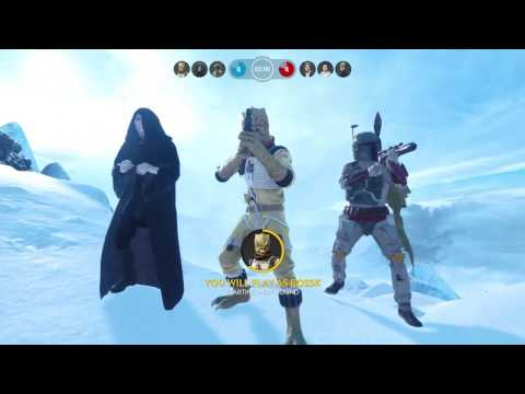 13 Heroes Killed With Bossk Star Wars Battlefront