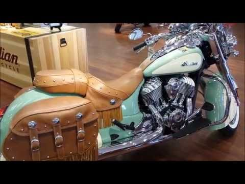 2015 Indian Chief Vintage Walkaround Video