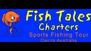 Sports fishing on the reef from Cairns with Darryl from Fish tales` Charters on vessel `don't know`1st January 2018