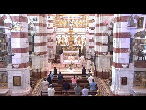 Laudes et Messe du 11 juin 2021 à Notre-Dame de la Garde