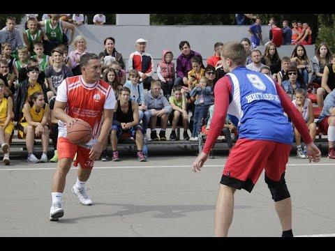 Пятый открытый турнир по стритболу в Жигулевске - 2015