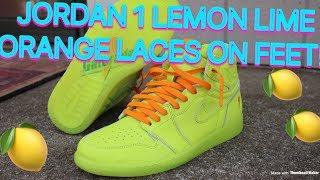 brand new 48c1d f9fb6 Jordan 1 gatorade On feet - Kênh video giải trí dành cho ...