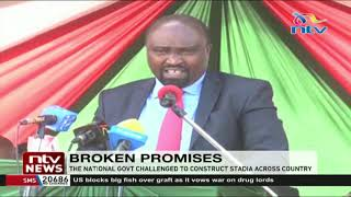 Broken promises: Elgeyo Marakwet governor challenges govt to construct stadiums