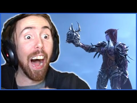 "Asmongold Can't Believe THIS is the NEW EXPANSION! - ""Shadowlands"" REVEAL at BlizzCon"
