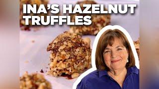 How to Make Ina's Chocolate Hazelnut Truffles | Food Network