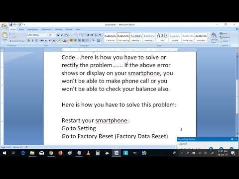 How Do I Fix Invalid Mmi Code