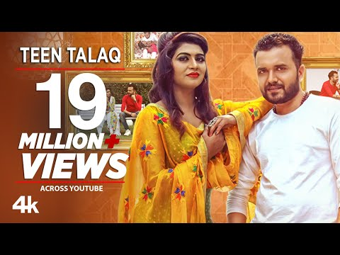 Ruchika Jangid: Teen Talaq Latest Haryanvi Video Song 2019 Feat. Sanju Khewriya, Sonika Singh