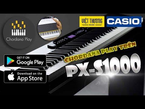 Hướng dẫn tính năng Chordana play trên Casio PX-S1000